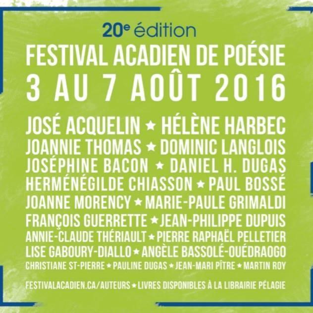 festival acadie
